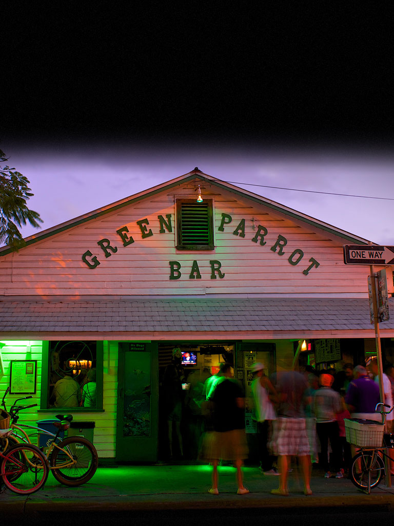 key west bars green parrot voted best bar in key west. Black Bedroom Furniture Sets. Home Design Ideas
