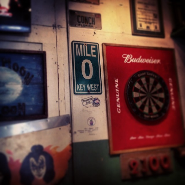 #keywest#florida#0mile#greenparrotbar