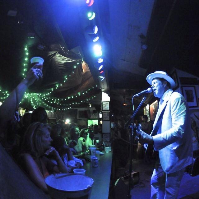 Robert Earl Keen at The Green Parrot last night.