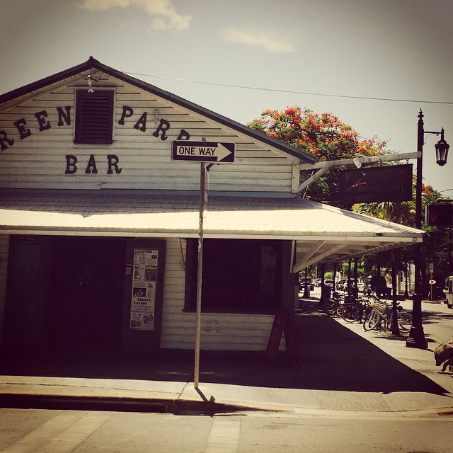 Key West #greenparrotbar