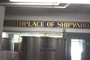 The birthplace of Shipyard Brewing Co. in Main