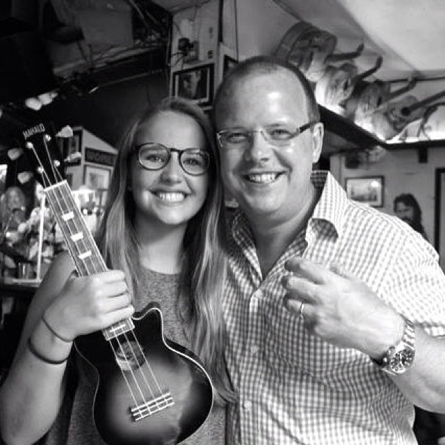 Ukuleles bring families together.
