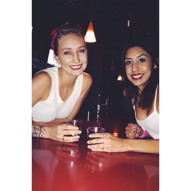 This woman made my night! So happy she came into vodka #vodkastreet #greenparrotbar #ilovemyjob