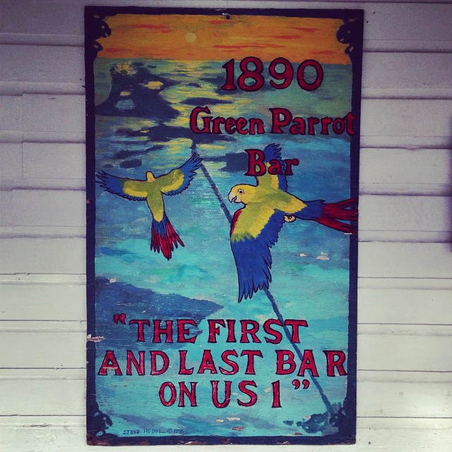 take me back! #keywest #greenparrotbar