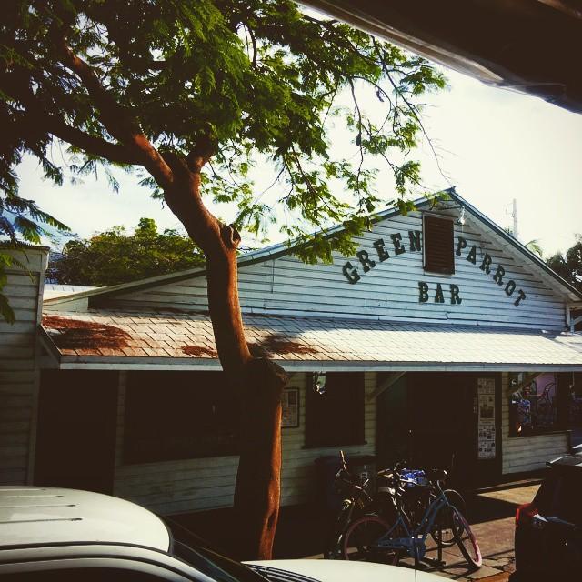 The Green Parrot Bar. #Florida #GreenParrotBar #Bars #Pubs #Keywest #Keys #Vacation #Drinks<br /> : @derekbond_&nbsp;