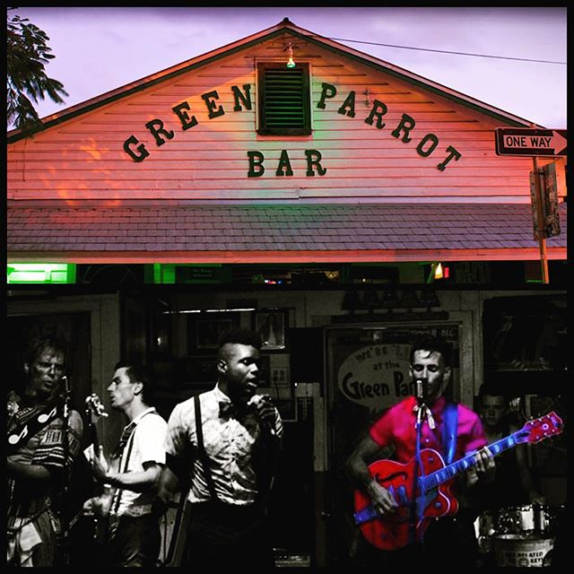 Tonight. 9pm. Patrick and The Swayzees!  Green Parrot. #PATS #KeyWest #Music #LocalBand #PatrickAndTheSwayzees #Swayzees #SwayzeeLife #GreenParrotBar @swayzees
