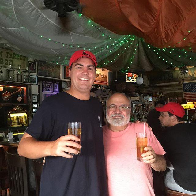 Myself and Malcolm Gosling, 8th generation rum distiller  from Bermuda. #greenparrotbar #Goslingsrum #darkandstormy