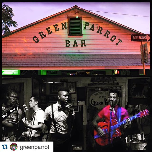TONIGHTS THE NIGHT  #Repost @greenparrot ・・・ Les can get it all done! Rock and Soul, Surf Rock, Rock-a-Billy, Doo Wap! Two big nights of Patrick and The Swayzees at your favorite spot, The Green Parrot. Wednesday and Thursday, September 9 and 10, Starts at 9 pm both nights! #greenparrotbar #patrickandtheswsyzees #rockandsoul #keywest #keywestlivemusic
