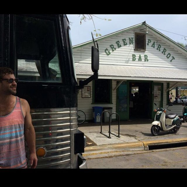 #TBT from this summer @greenparrot!  We miss you Key West!  #KeyWest #GreenParrotBar #HoneyIslandSwampBand #HISB #BayouAmericana #BayouMusic #SwampMusic #Funk #NOLA #MusicIsLove #MusicIsLife #MusicFests