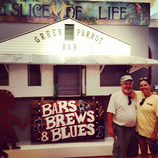 Fun at the Customs House Museum #keywest #greenparrotbar #museums #locallove