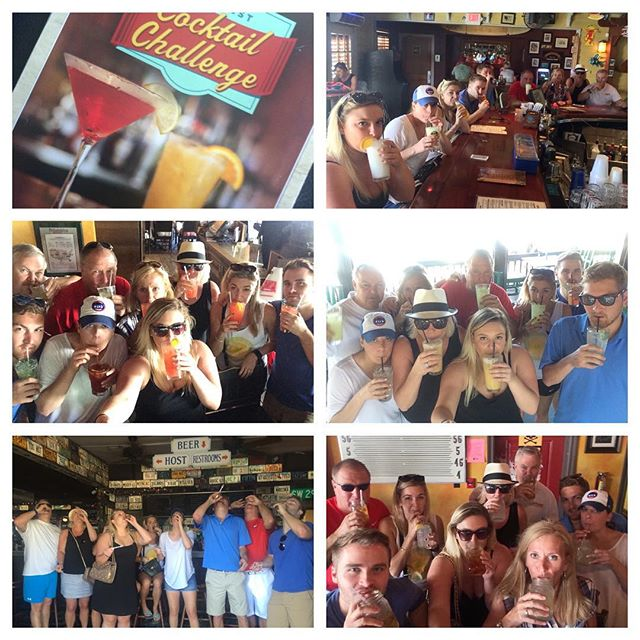 Chardonheyyed all over Key West doing the Cocktail Challenge #sofun #happyhour #wine #winos #alcohol #5oclocksomewhere #islanddogsbar #rumbarrel #turtlekraals #halfshellrawbar #greenparrotbar #charliemacs #keywest #thanksgiving