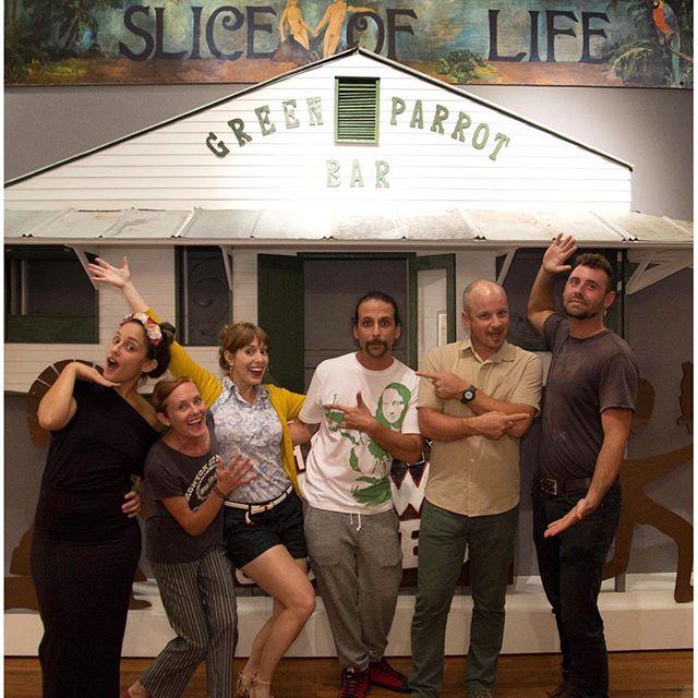 Slice of Life at the Custom House - Green Parrot Bars Brews & Blues show #wonderdogstudios #keywest #customhouse #greenparrotbar @greenparrot