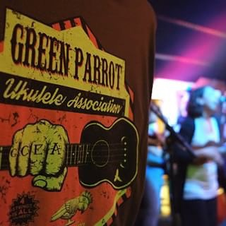 Green Parrot Ukulele Association Holds Uke-Powered Jam Session The Green Parrot Ukulele Association will hold their monthly meeting on Wednesday, January 13th at 8 p.m. with co-hosts Jeff Clarke and Tim McAlpine.  Dig out that old ukulele from your attic or closet and strum your way into a four-string stupor at Green Parrot Ukulele night, Key West's only ukulele-powered jam session. Come to just listen or join in. All levels are welcome and remember, spare ukes and instruction are available for those who want to try them out.#greenparrotbar #greenparrotukuleleassociation #ukulele #ukelife #fourstringfrenzy