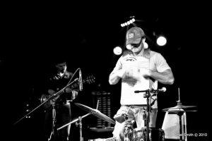 Randy McAllister performs