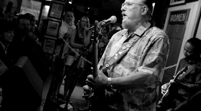 steve cropper at the green parrot in key west