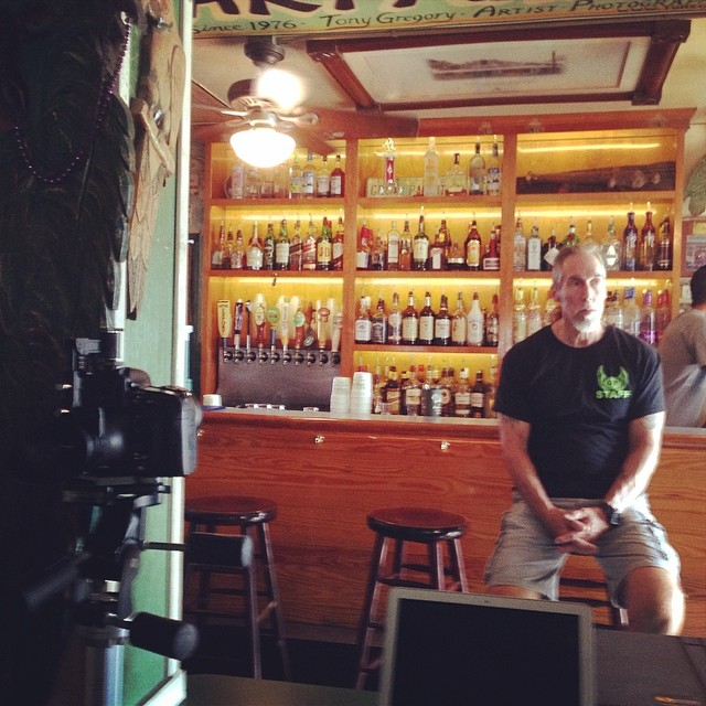 Big Tim patiently waiting for his roll on the new #greenparrotbar  video we are shooting.