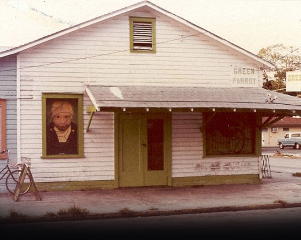 Photo of Green Parrot Bar Circa 1981