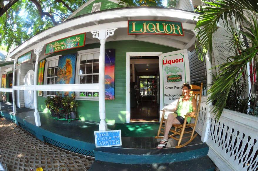 Green Parrot Liquor Store