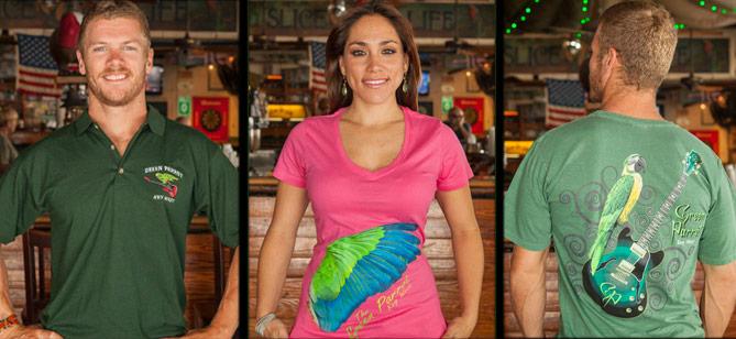 photo of green parrot merchandise