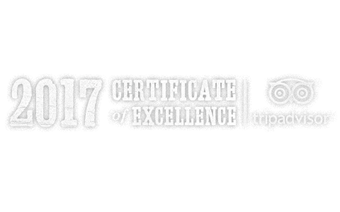 Trip Advisor Certificate of Excellence for Key West Bars