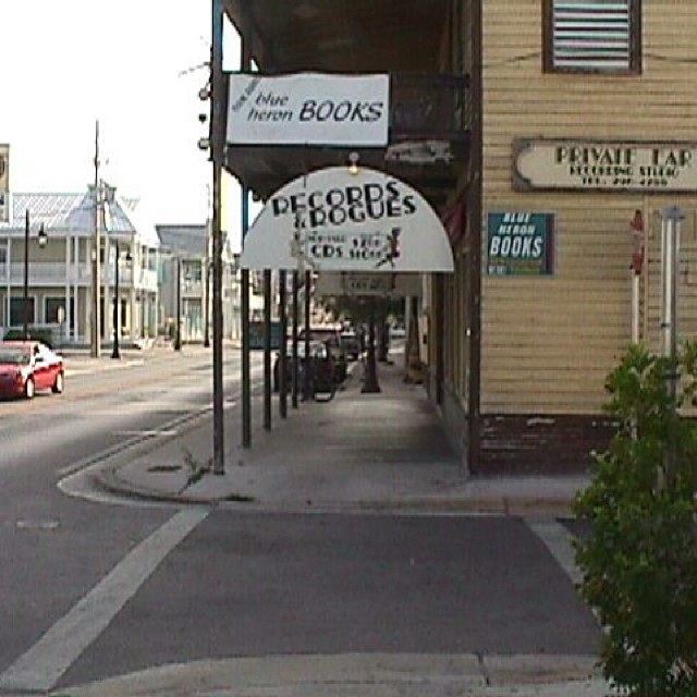 This Saturday is National Record Store Day. Pictured above is Records and Rogues, late of Truman Avenue here in Key West, Marty and Dana's Vinyl Emporium, Musicians Exchange, Band Clearing House and sometimes-Green Room for Danny Simpson and Melody Cooper's Private Ear Studio, around back on Watson St.