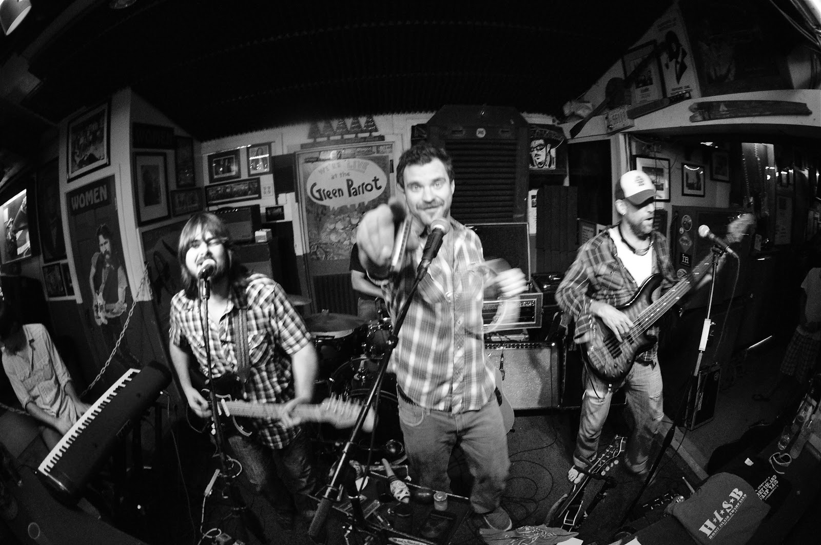 honey island swamp band at the green parrot