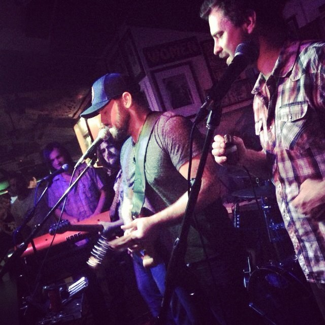 Zach Brown sits in with The Honey Island Swamp Band last night at The Parrot.