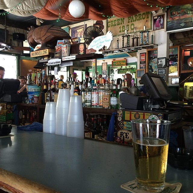Favorite bar in key west. #greenparrotbar