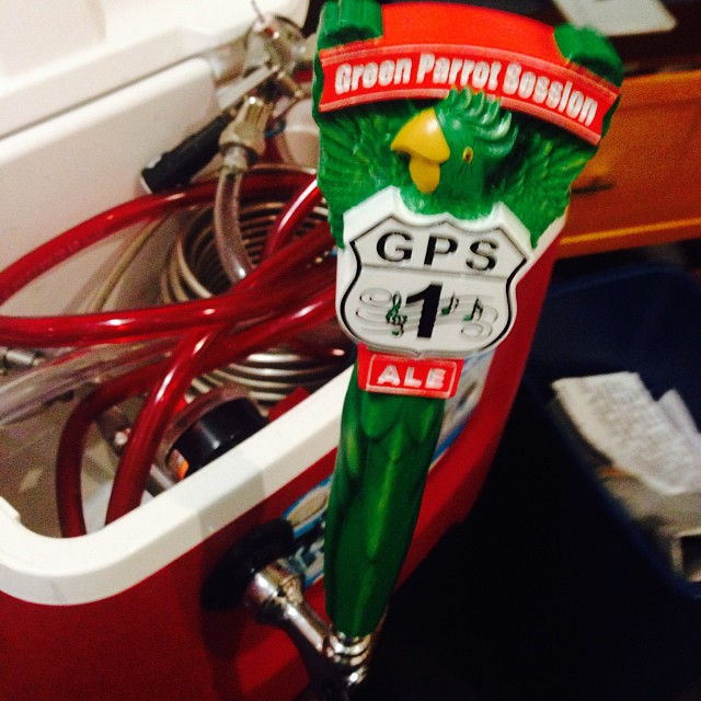 Green Parrot Session Ale heads down the road to Brewfest tomorrow at the southermost hotel