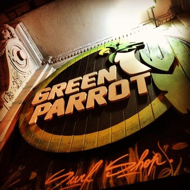 La posts de los jueves! #greenparrotbar #gpbar