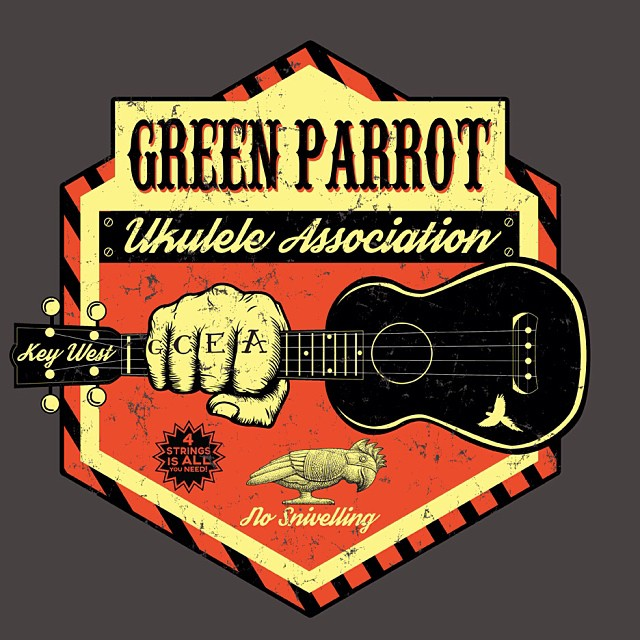 Green Parrot Ukulele Night. Wed., Oct 8th, 8 PM. Dig out that old ukulele from your attic or closet, Join Tim McAlpine & Jeff Clark and strum your way into a four-string stupor at Green Parrot Ukulele night, Key West's only ukulele-powered jam session.