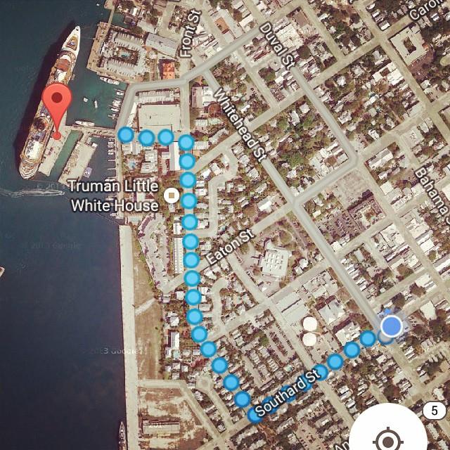 That's going to be a long walk... #greenparrotbar #Disney #DisneyCruise #DisneyCruiseLine #DCL #Wonder #DisneyWonder #Miami #PortOfMiami #MiamiBeach #Sailing #Castaway #CastawayCay #Nassau  #Bahamas #KeyWest #diabeetus #Vacation #VacationFromANewJob