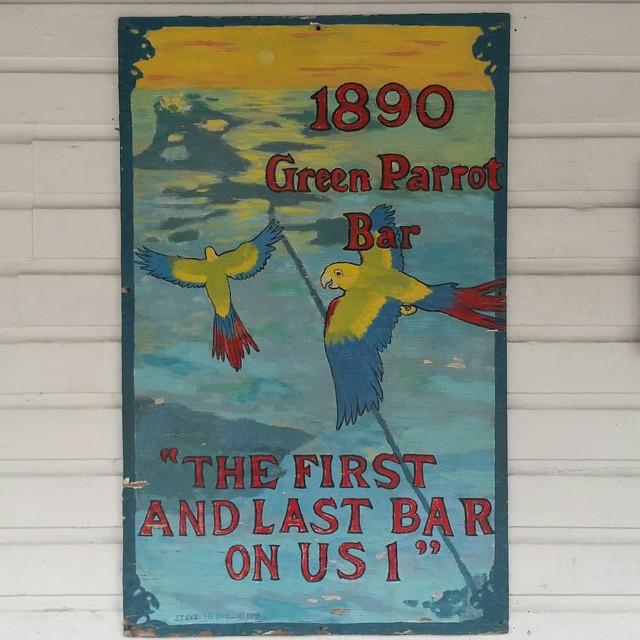 Green Parrot Bar!  #greenparrotbar #keywest #newyear