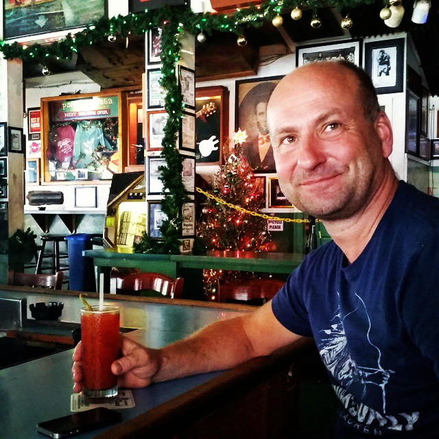 Happy new year!  #greenparrotbar #keywest #newyear #hallo2015 #bloodymary
