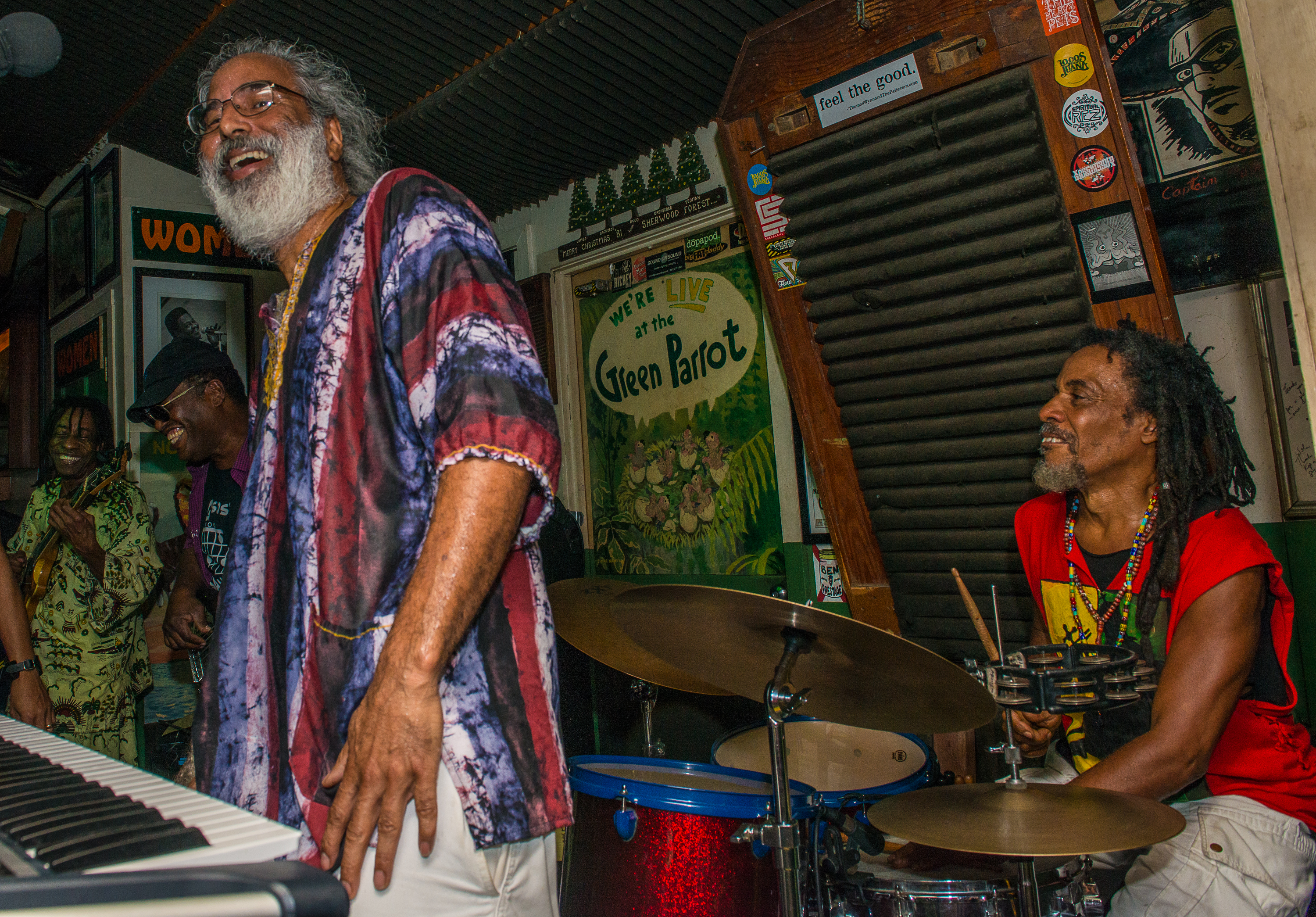 Nicess, a tribute to Bob Marley at The Green Parrot