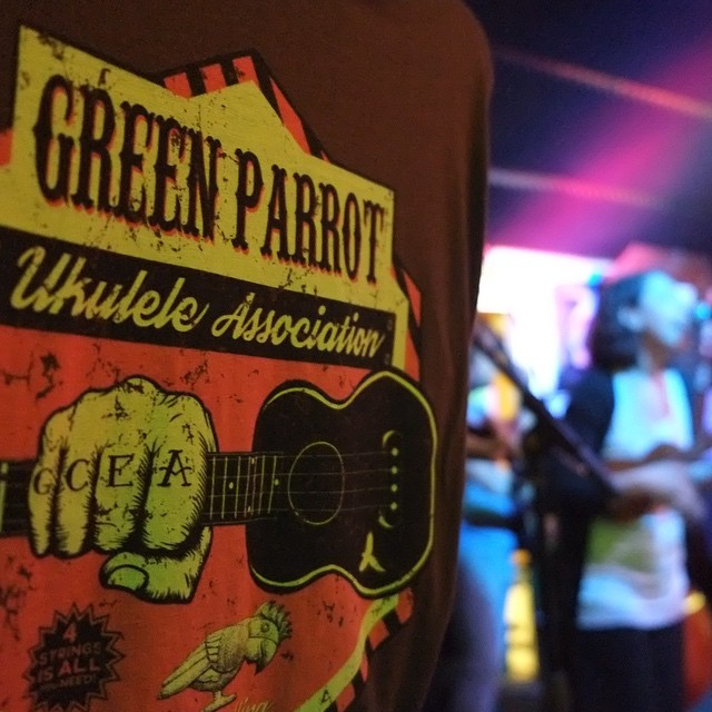 Green Parrot Ukulele Night Wednesday, June 3rd 8 p.m. Key West's only Uke-Powered Jam Session. Come and whip yourself into a four-string frenzy. #greenparrotbar #ukulele #fourstingfrenzy #ukelifeco