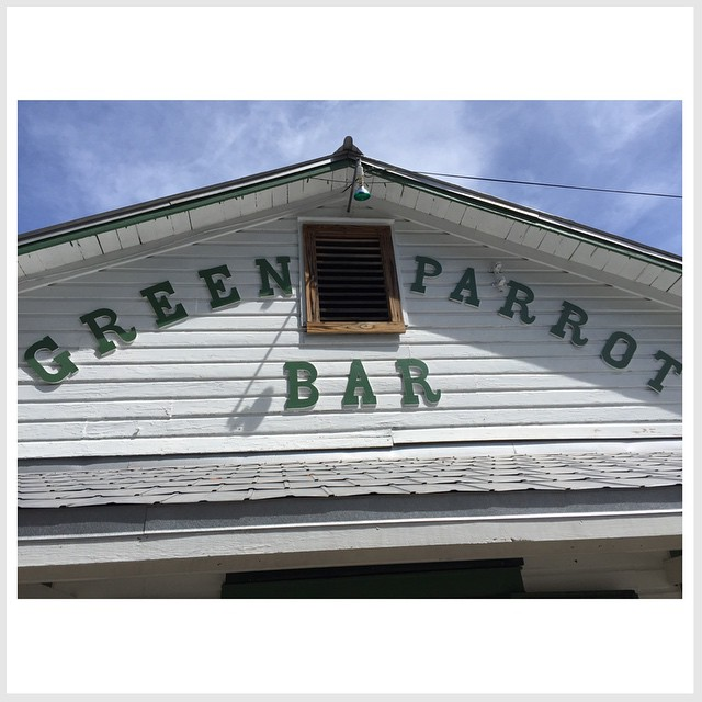 Relaxed at Green Parrot this afternoon!  Great place.  #keywest #greenparrotbar