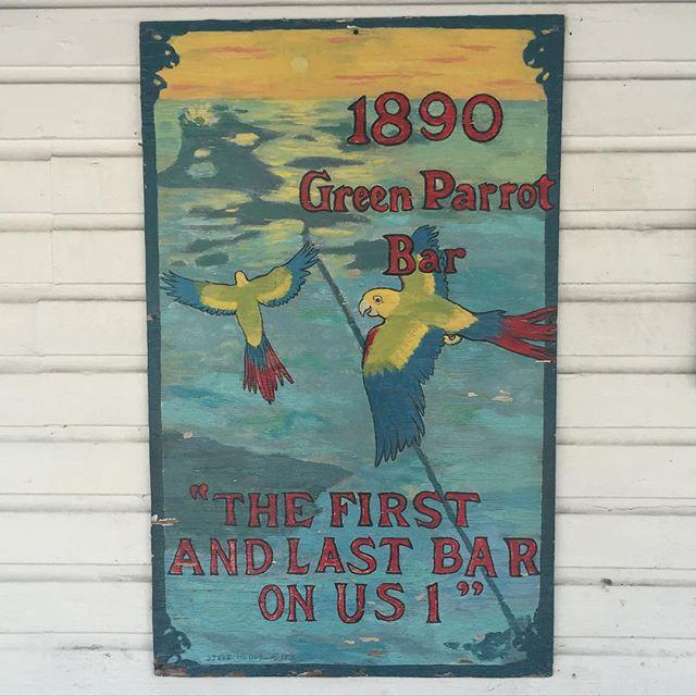 #greenparrotbar #bar #keywest #florida #parrot #conch