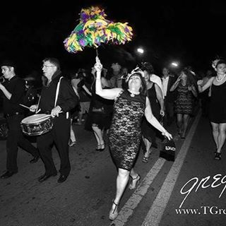Waterseed Brings New Orleans Funk and Soul, Leads Second-Line to Green Parrot Party!  Combining the joyous sounds of traditional New Orleans jazz with the adventurous funk of Parliament, Waterseed, a big, bold ensemble from New Orleans brings their unpredictable experimental edge to the Parrot stage with shows at 6 and 10 p.m.on Friday, September 4th, at 10 p.m on Saturday, September 5th and 6 p.m. on Sunday, September 6th.  As as special addition to this year's Brewfest event, at 8 p.m. on Saturday, September 5th,  a Second Line March led by the New Orleans band Waterseed will leave South Beach at end of the Brewfest Signature Tasting Festival. Get your dancing shoes on to march your way from the end of the festival at South Beach, down Duval Street, to the Green Parrot. Keep the night alive with the live brass band leading us to the next party! Photo credit Tony Gregory #greenparrotbar #waterseed #keywestbrewfest #nolafunk #secondline #secondlineumbrellas #tonygregory  #tonygregoryphotograohy