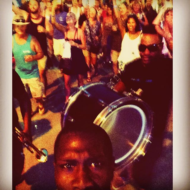 In #keywest with @waterseedmusic #greenparrotbar #2015 #funk #florida #music #Musician #MusicLife ##waterseed #secondline