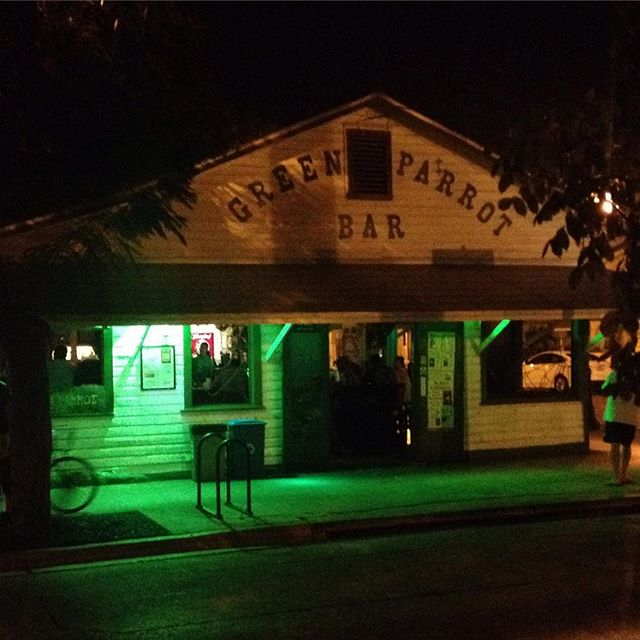 The best bar in Key West. #greenparrotbar #keywest #laborday #labordayweekend