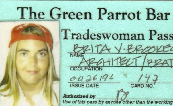 Green Parrot Tradesman's Pass