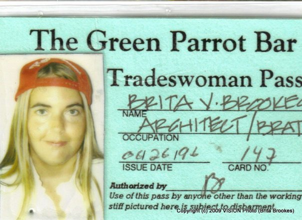 Green Parrot Tradesman's Pass