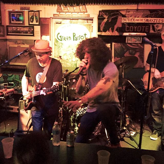 Revivalist frontman David Shaw takes the stage at The Green Parrot with fellow NOLA soul/funksters The New Orleans Suspects  and looking not unlike the luxuriously-coifed Buddy Miles, offers his inspired, athletic take on the Buddy Miles/Band of Gypsy's classic Them Changes. #greenparrotbar #neworleanssuspects #davidshaw #therevivalists #nolafunk #keywestmusic #keywest #buddymiles #bandofgypsys