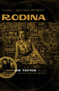 Rodina with Joe Tatton at The Green Parrot bar