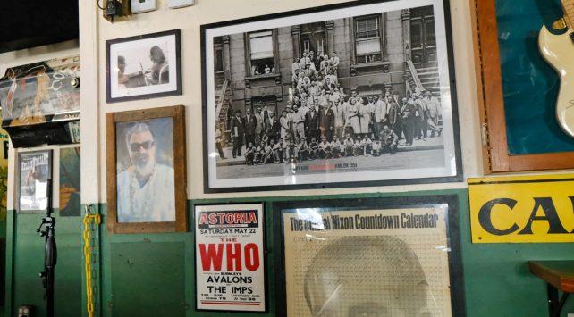 art kane Harlem 1958 poster on Green Parrot Wall