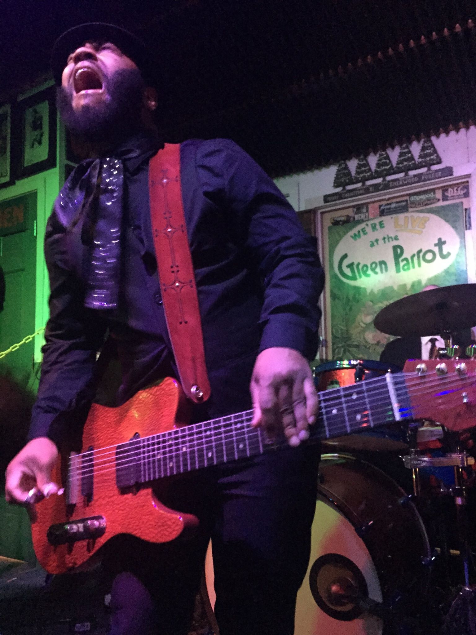 AJ Ghent at The Green Parrot Bar
