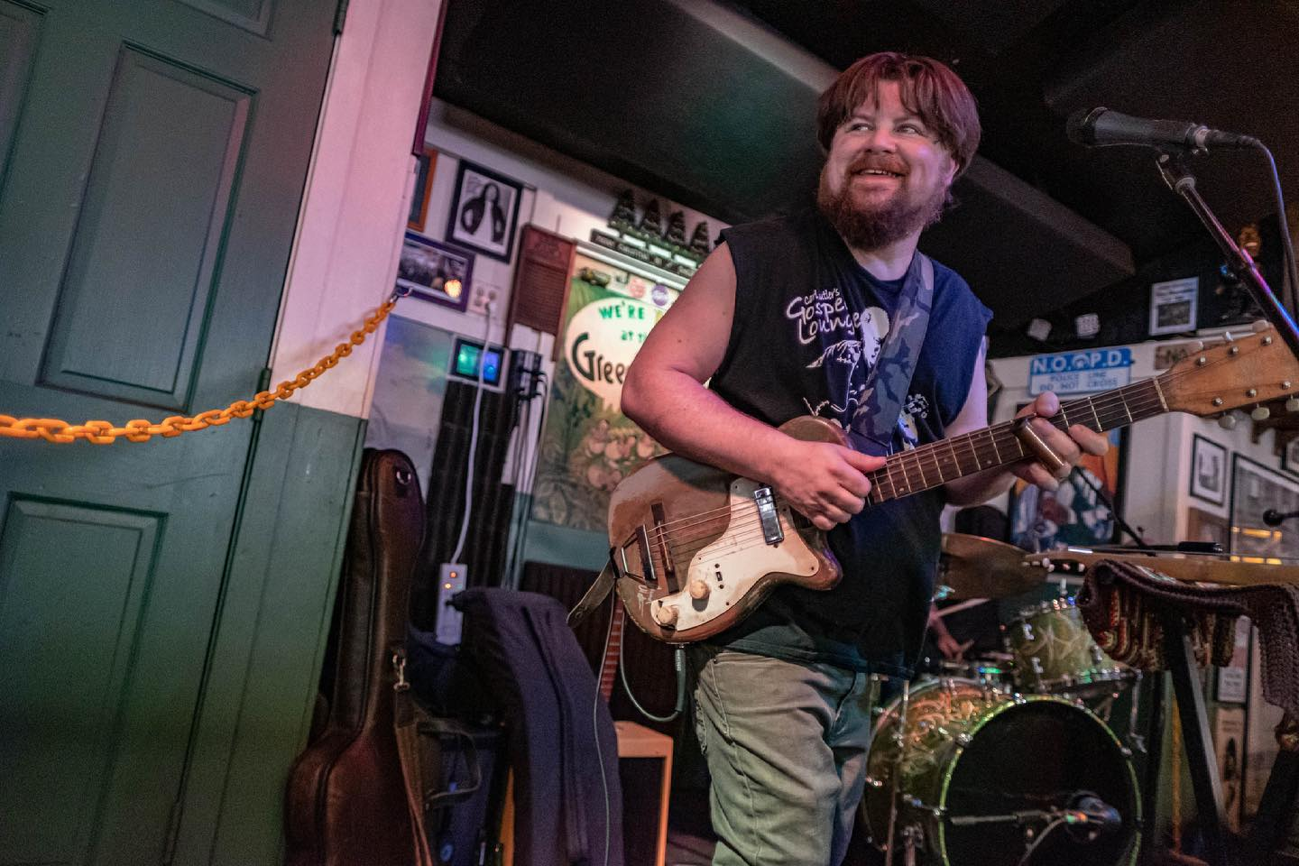 Damon Fowler at The Green Parrot Bar in Key West