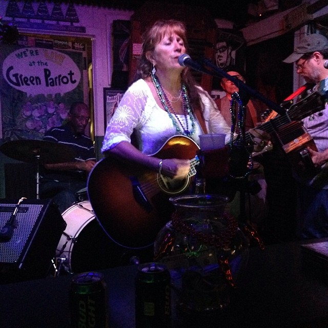 Maggie Munoz of Magnolia Cajun Band leads a Fais Do Do or Fat Tuesday dance party