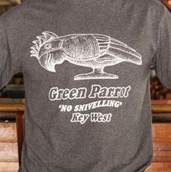 Green Parrot T Shirt